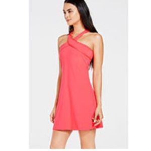 Fabletucs Chicago Dress in Bright Pink Size Medium